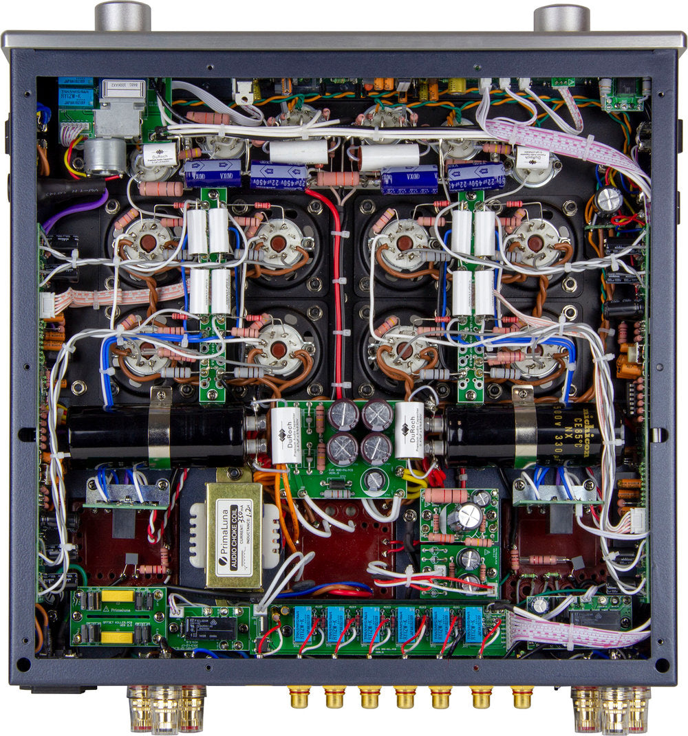 PrimaLuna EVO 400 Integrated Valve/Tube Amplifier (Internals) | Douglas HiFi