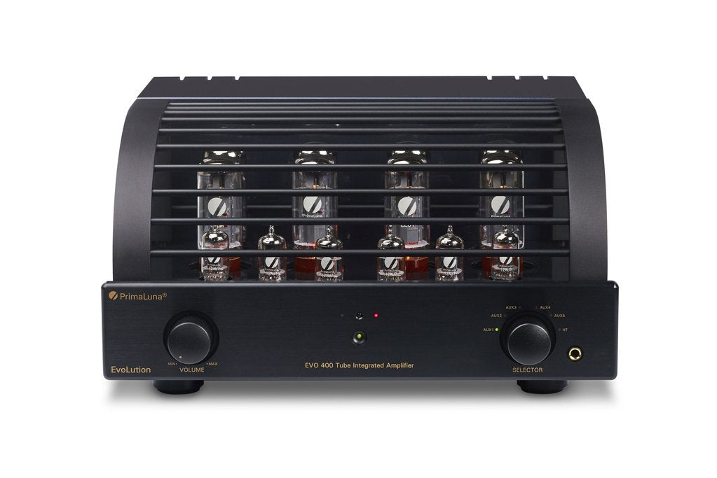 PrimaLuna EVO 400 Integrated Valve/Tube Amplifier (front) | Douglas HiFi