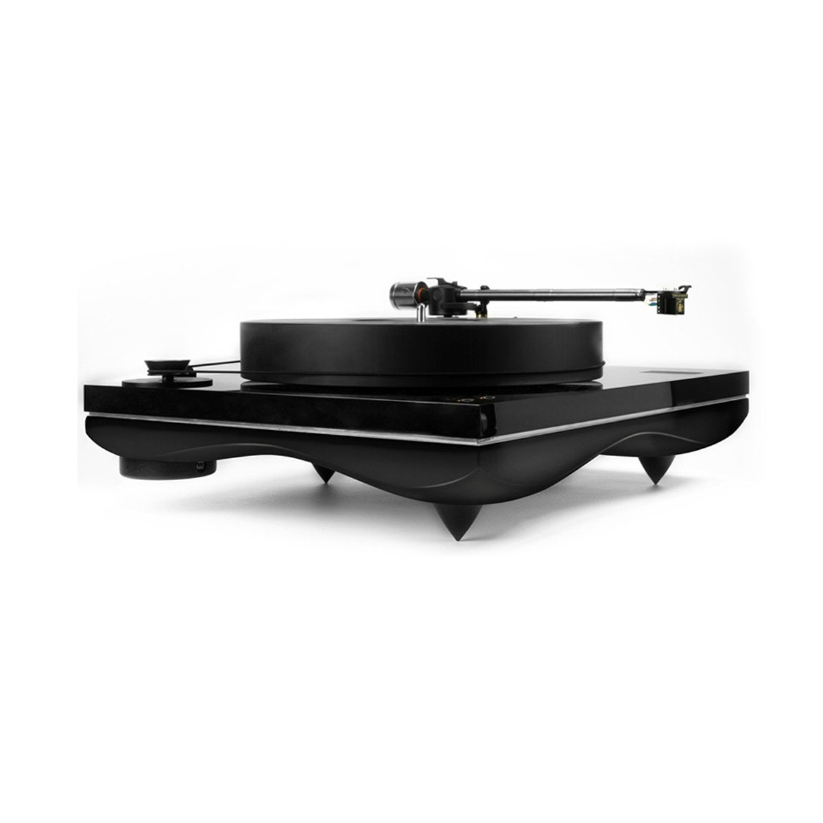 Gold Note Mediterraneo Turntable with Gold Leaf Finish