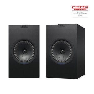KEF Q350 Award Winning Bokshelf Speakers (blk) | Douglas HiFi