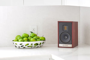 Martin Logan 15i Bookshelf Speaker  (Red Walnut 2) | Douglas HiFi Perth