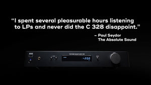NAD C328 Integrated Amplifier with DAC and Phono Stage (review blurb) | Douglas HiFi Perth