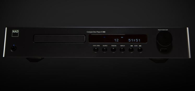 NAD C568 Compact Disc Player - Douglas Hifi
