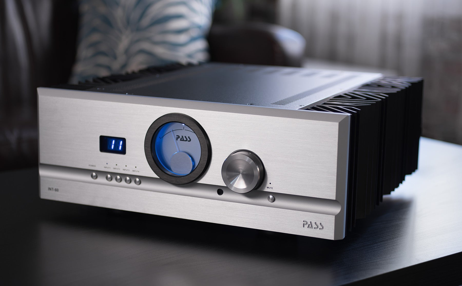 PASS Labs INT60 Integrated Amplifier | Douglas HiFi Perth