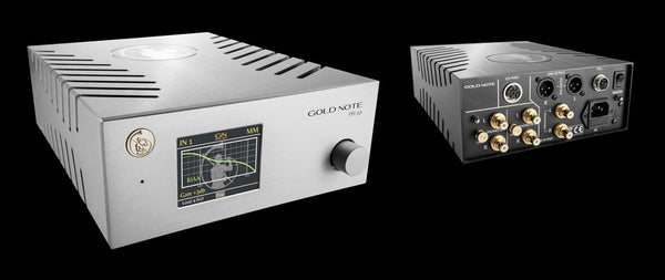 Gold Note PH 10 MM/MC Phono Stage Pre-Amp 3 | Douglas HiFi