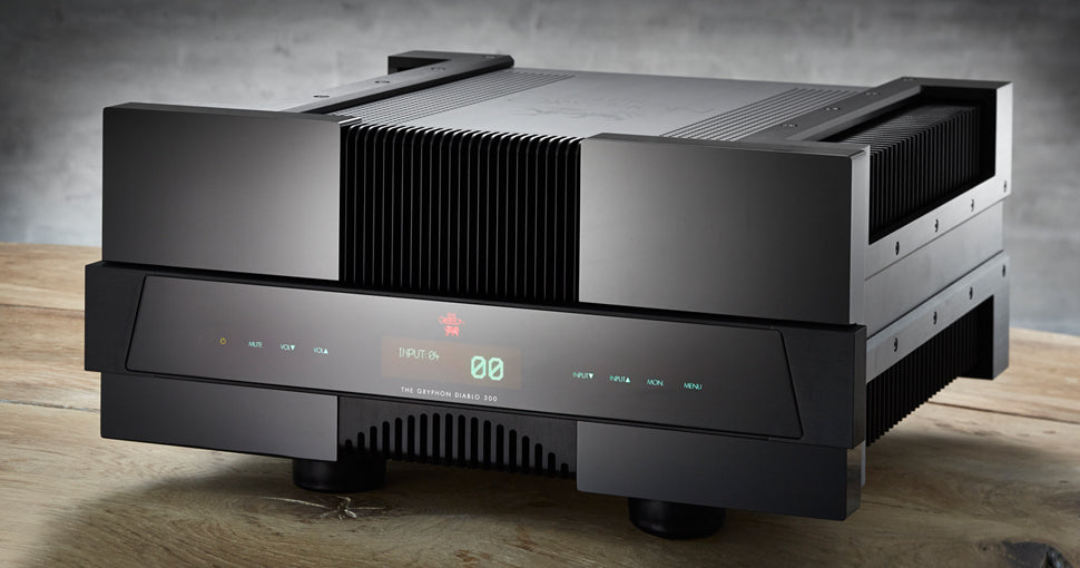 The Gryphon Diablo 300 Integrated Amplifier - Douglas HiFi Perth