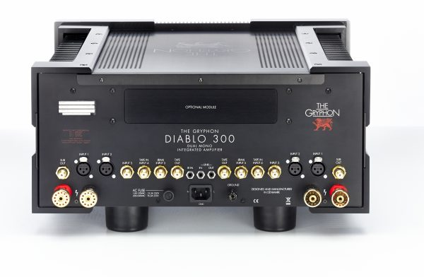 The Gryphon Diablo 300 Integrated Amplifier Back - Douglas HiFi Perth