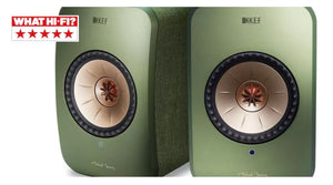 KEF LSX Active Wireless HiFI Speakers What HiFi Award| Douglas HiFi