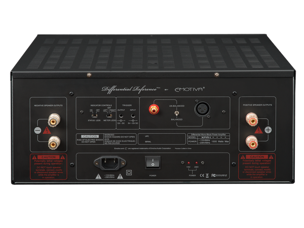 Emotiva XPA-1 Gen 2 - Monoblock Power Amplifier