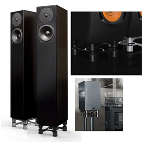 IsoAcoustics Isolation - Aperta 200 Speaker Isolation Stands