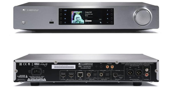 Cambridge Audio CXN V2 Audio Hi-Res Network Streamer/DAC (silver) | Douglas HiFi