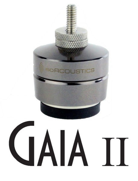 IsoAcoustics Isolation - GAIA 2 (set of 4) Threaded Steel Isolators