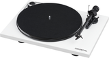 Pro-Ject Essential III Turntable with Ortofon OM10 Cartridge (Wht) | Douglas HiFi
