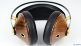 Meze 99 Classics (Walnut Gold) - Award Winning Wood Ear cup Headphones (3) | Douglas HiFi