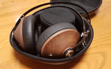 Meze 99 Classics (Walnut Gold) - Award Winning Wood Ear cup Headphones (2) | Douglas HiFi