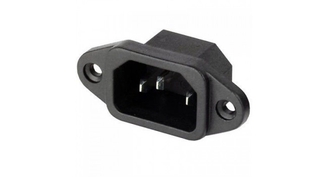 C14 connector for C13/15 plugs