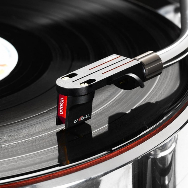 Ortofon Cadenza Red MC Cartridge (playing) | Douglas HiFi