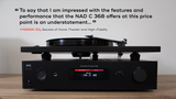 NAD C368 BluOs 2i Integrated Amplifier with built in Hi Resolution Streamer (review quote) | Douglas HiFi