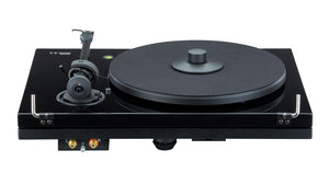 Music Hall mmf-5.3 turntable piano black back - Douglas Hifi