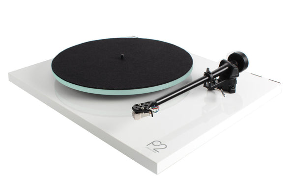 Rega Planar 2 Record Player (White) | Douglas HiFi