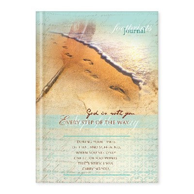 Hardcover Journal - God is with you