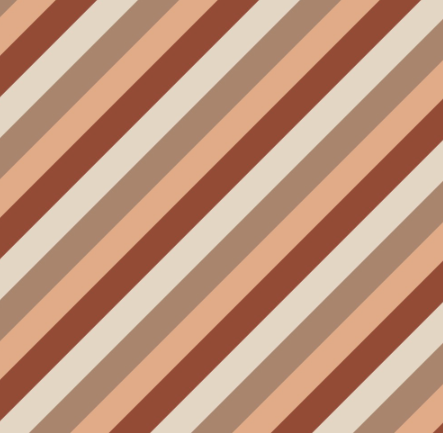 Rolletje inpakpapier - Terracotta Stripes - House of Products