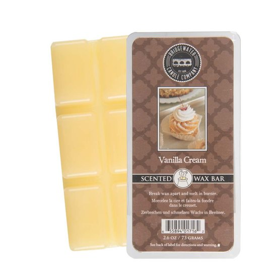 Bridgewater Wax Bar Vanilla Cream