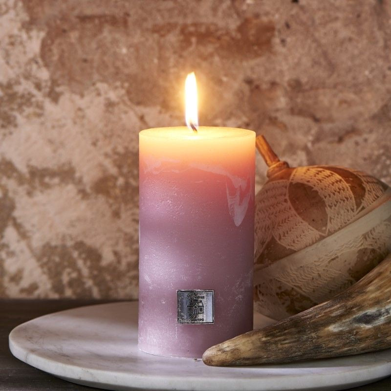 Rivièra Maison- Rustic Candle - 7x13 - Faded Pink