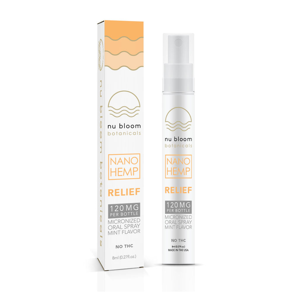 Relief Spray 120mg 8ml