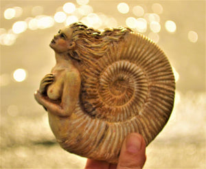 Ammonite Woman, Ancient Spirit,