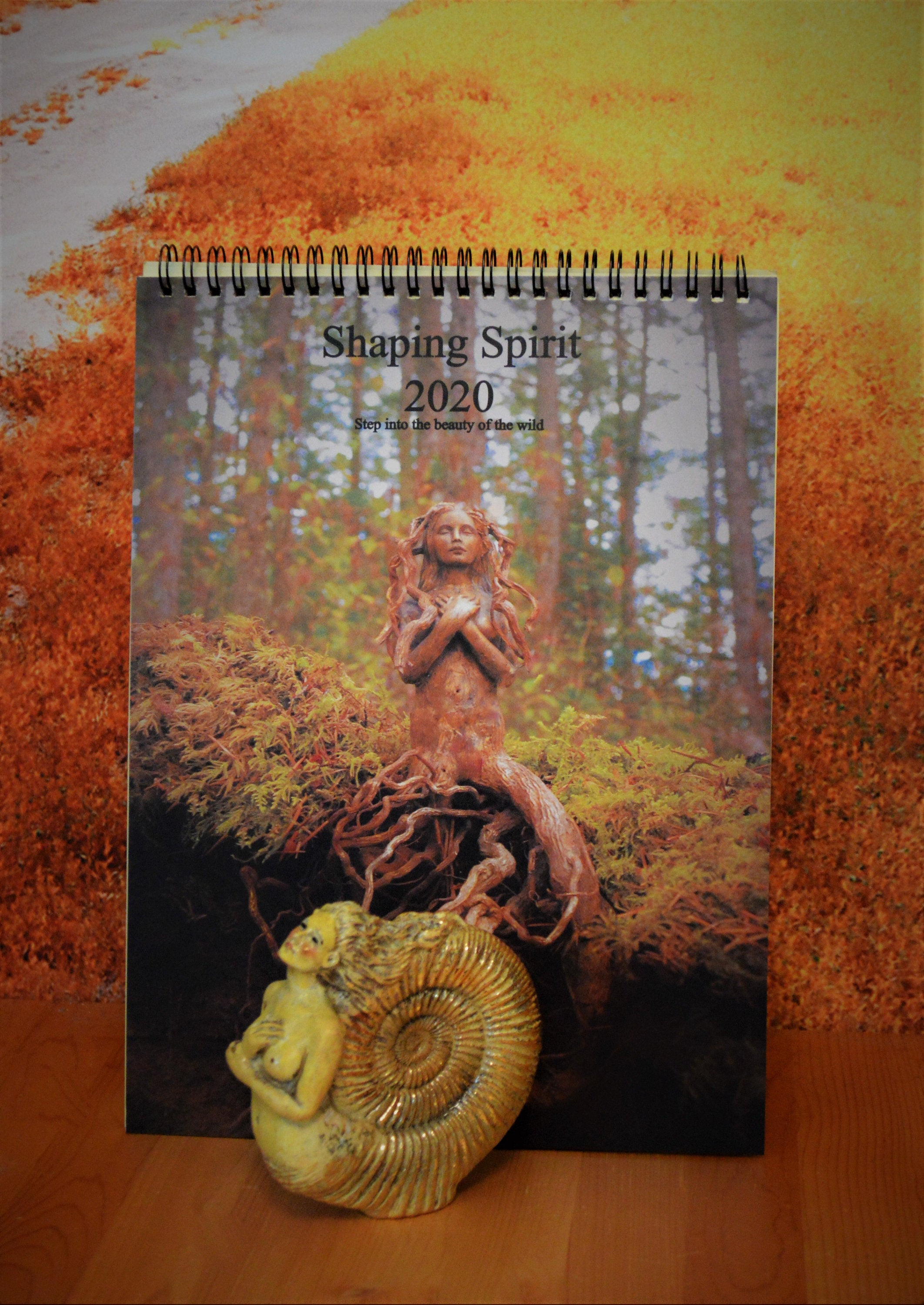 Combo Deal, Ammonite Woman & 2020 Calendar, Ancient Spirits