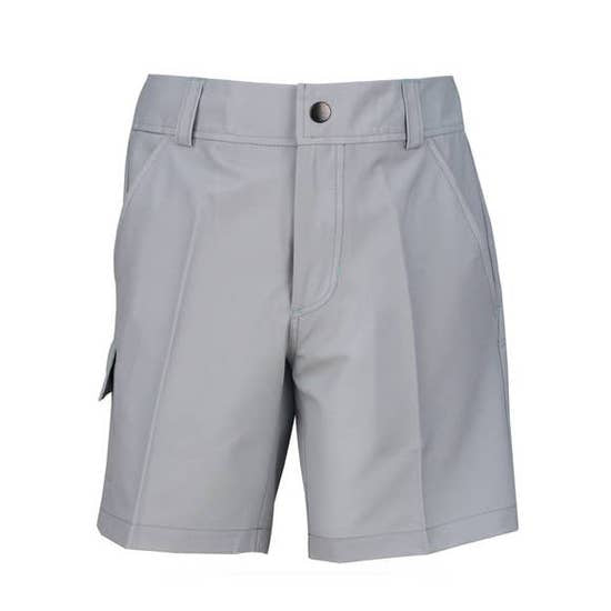 Gray Boys Golf/Tennis Cargo Short