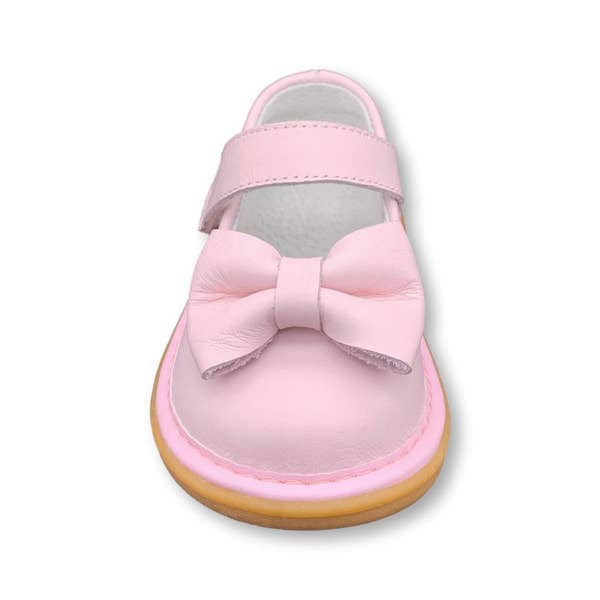 Pink Bow Squeak Shoe