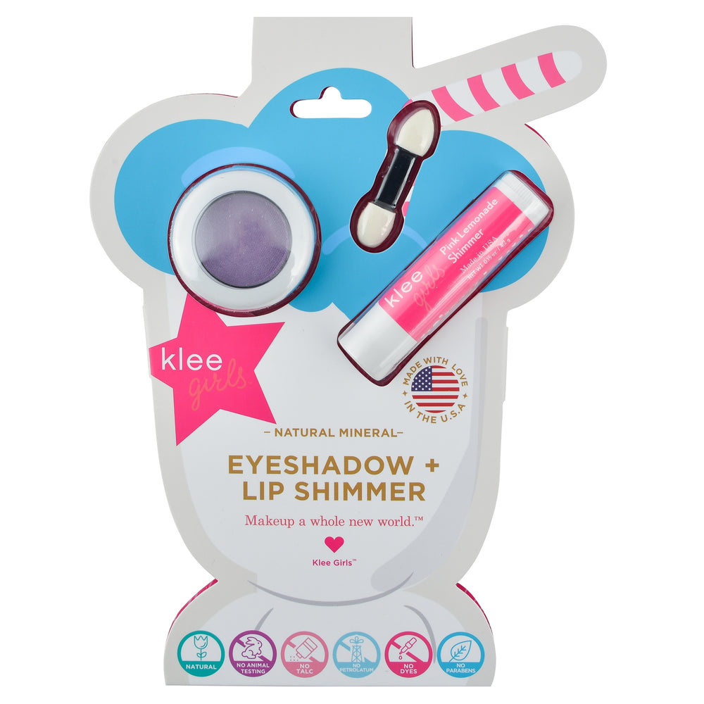 Klee Kids Eyeshadow and Lip Shimmer Set