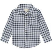 Navy/White Plaid Shirt