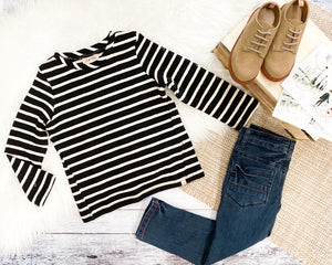 Kash Striped Top