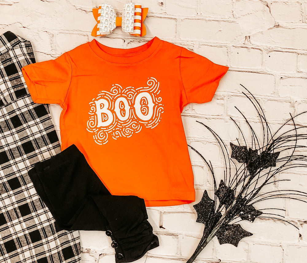 Spooky Scrolls Boo Graphic Tee