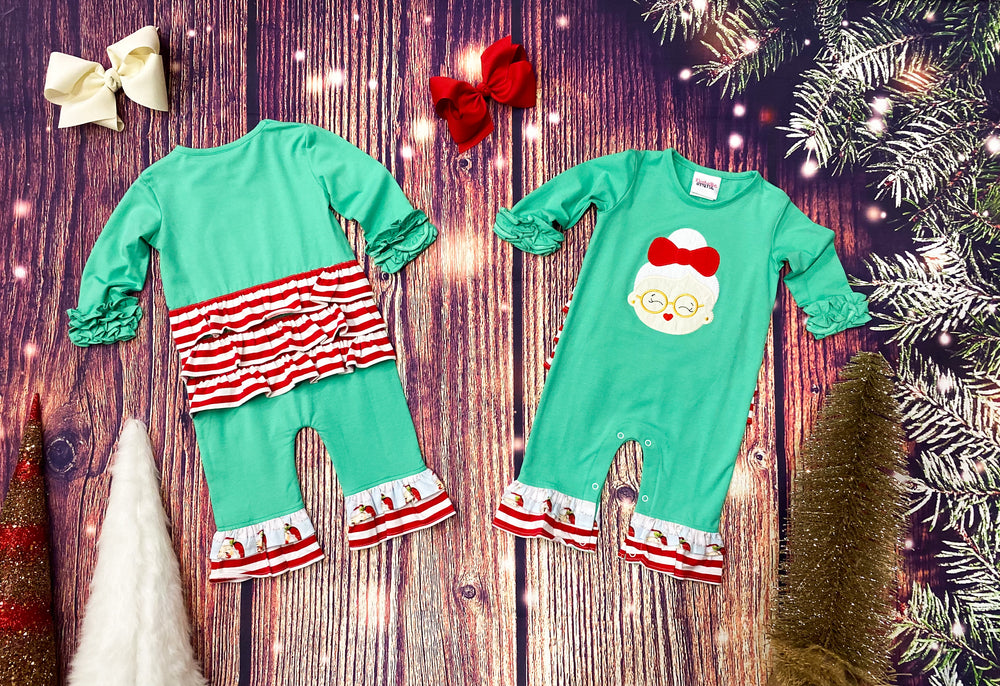 Mrs. Claus Romper