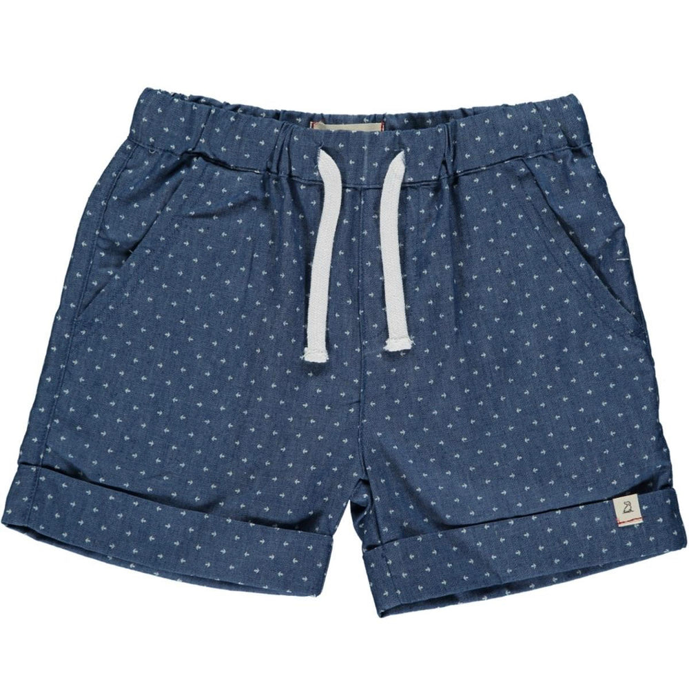 Arrow Chambray Short