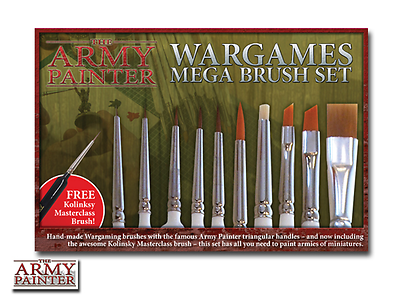 The Army Painter Brushes Mega Brush Set (ST5113)