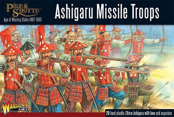 Pike and Shotte Ashigaru Missile Troops