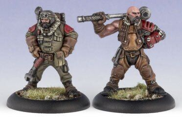 Khador Battle Mechanik Chief & Assistant (2) (PIP 33004)