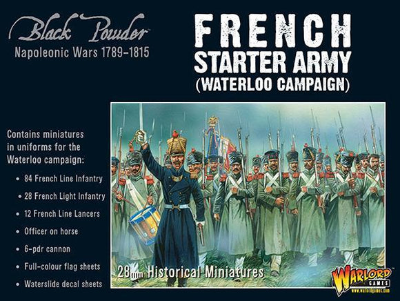 Black Powder French Napoleonic Starter Army (Waterloo Campaign)