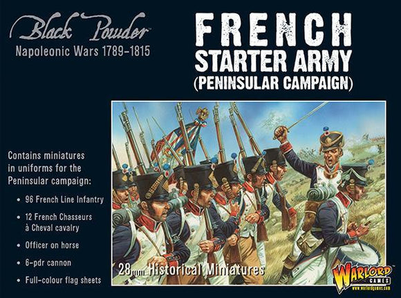 Black Powder French Napoleonic Starter Army (Peninsular campaign)
