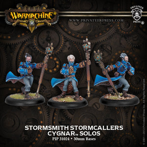 Cygnar Stormsmith Storm Callers (3) (PIP 31024)