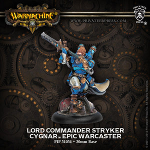 Cygnar Epic Lord Commander Coleman Stryker (PIP 31034)