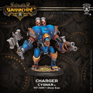 Cygnar Light Warjack Charger (PIP 31089)