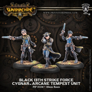 Cygnar Black 13th Strike Force (3) (PIP 31130)