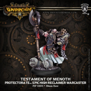 Protectorate of Menoth Epic Testament of Menoth (PIP 32033)