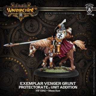 Protectorate of Menoth Exemplar Venger Cavalry  (1) (PIP 32042)